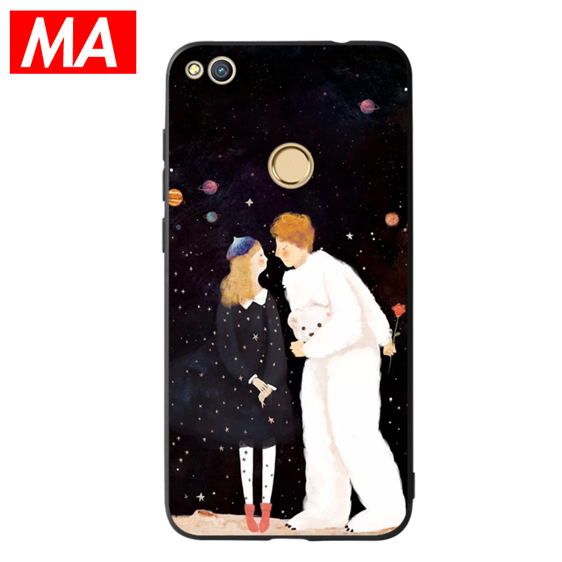 MA The Lovers Phone Case For Huawei P8 lite 2017 P9 P10 P20 Lite Plus Nova Honor 6C 6A 6X Honor 8 Honor 9 Mate 10 lite