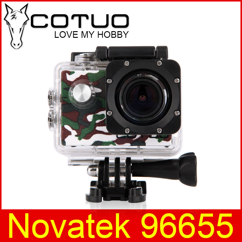 COTUO CS70 Sports Action Camera WIFI 14MP Full HD 1080P 30FPS 2.0LCD Diving 30M Waterproof Sport Camera mini cam