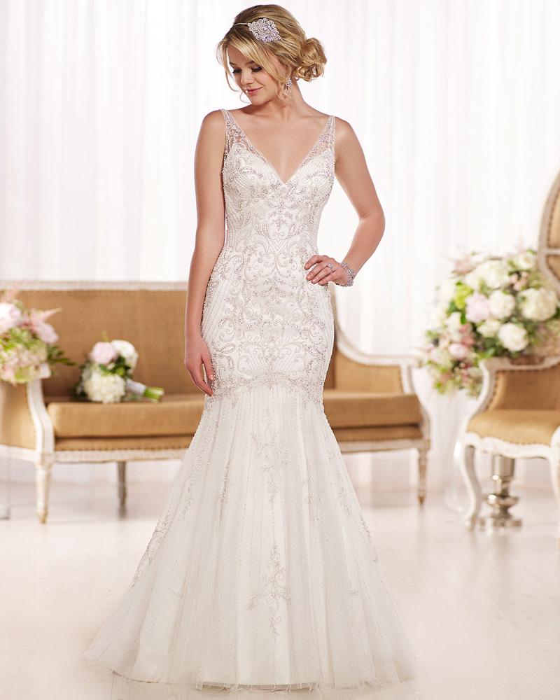 the perfect wedding dress Blush wedding dresses are the perfect way to bring some color to your wedding without sacrificing the traditional wedding dress style