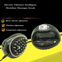 Electric Vibrator Intelligent Meridian Massager Brush Infrared Detoxification Therapy Relax Muscle Pain Relief Massage