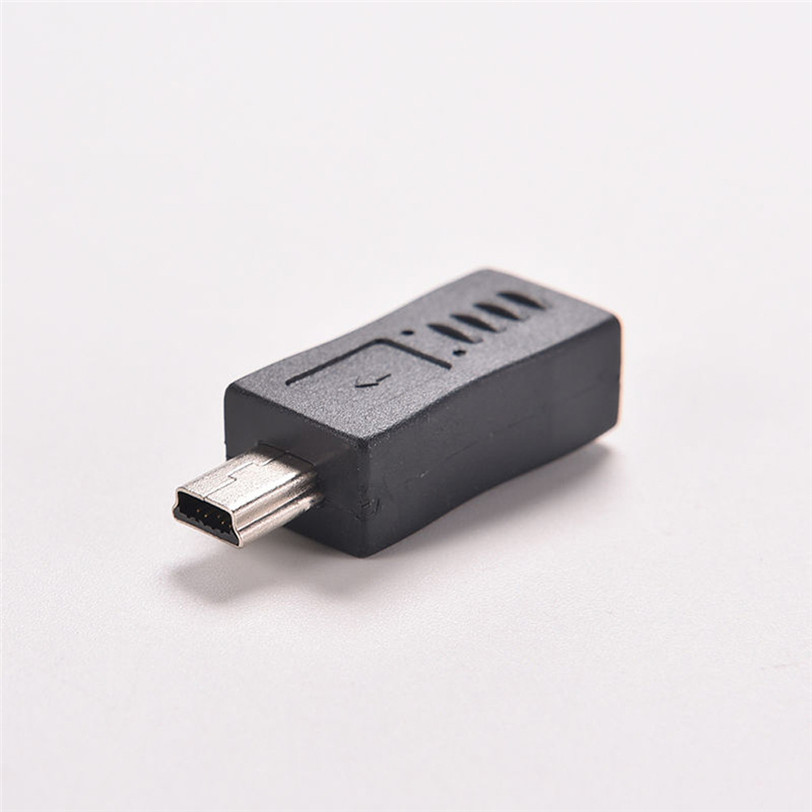 2pcs Micro USB Female To Mini USB Male Adapter Charger Converter Adaptor 2X JX Aug29 Professional Factory Price Drop Shipping
