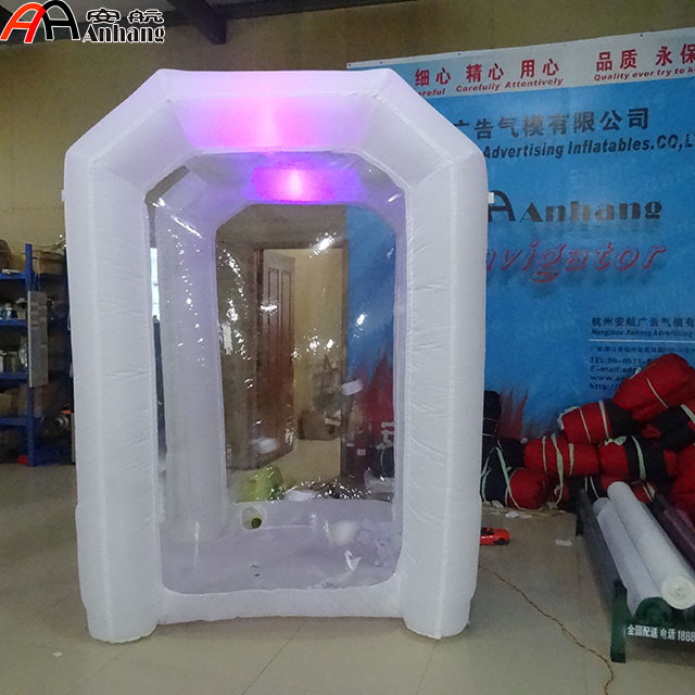 Free Shipping Advertising Inflatable Cash Grab Booth Inflatable Money Booth With Light
