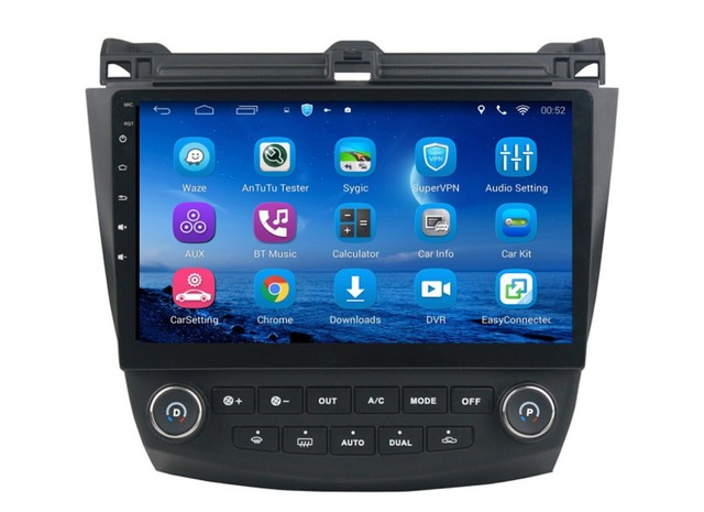Car Dvd Player For Honda Accord 7 2003 2007 With Mirror Link Gps Radio Tv Bt Swc
