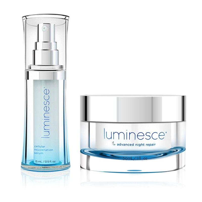 Original Luminesce jeunesse Face Serum Essence and Advanced Night Repair night Cream whitening anti aging rebuild