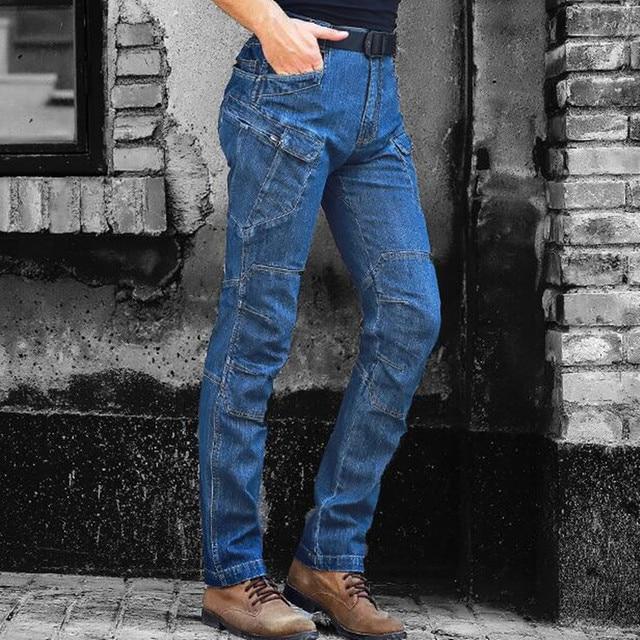 Blaue jeans hose