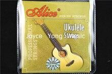 """Alice AU041 Clear Nylon Ukulele Strings 1st-4th Strings For 26"""" Ukulele Free Shipping Wholesales"""