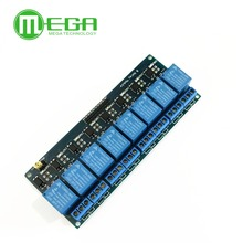1pcs 8 Channel  5VDC 12VDC   Relay Module with Optocoupler P