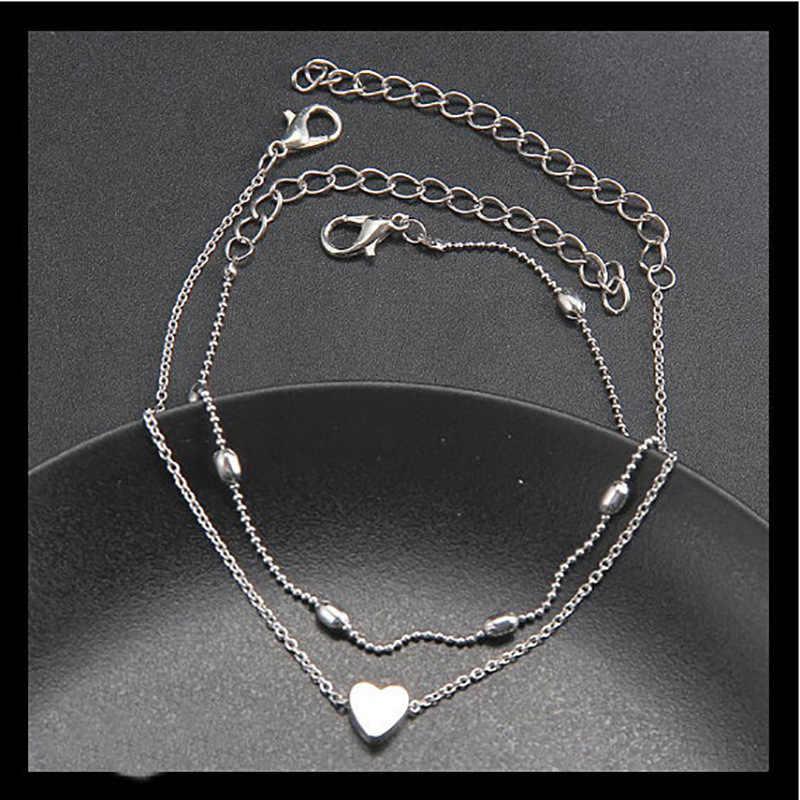 Халяль энкельбандье простые браслеты на босую ногу сандалии, вязанные крючком украшение на ногу Новые ножные браслеты на лодыжке для женщин