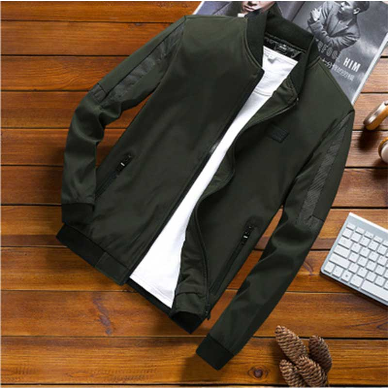 plus size M-8XL bomber jacket men casual autumn spring patches design mens jacket coats male windbreaker outerwear