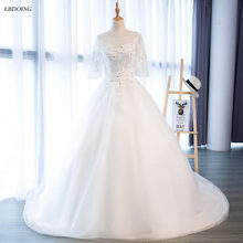 EBDOING Ball Gown Wedding Dresses 2018 Court Train