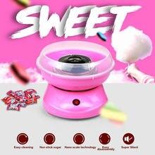 Лучшая Цена Мини Хлопок Конфеты Сахара Машина Нить Maker DIY Электрический Сладкий Cotton Candy Maker для Детей Девочка Мальчик Подарок