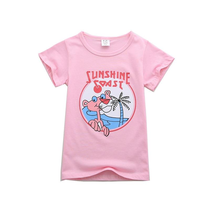 Enfants T-shirt De Mode Casual À Manches Courtes Mignon de Bande Dessinée