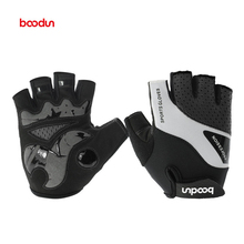 Половина Finger Рыбалка перчатки мотоцикл MTB Горная дорога велосипед перчатки Для мужчин спортивные противоскользящие противоударный велосипедные перчатки