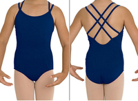 Child Double Strap Back Cross Leotard Ballet Leotard For Children Classical Leotard CS0023