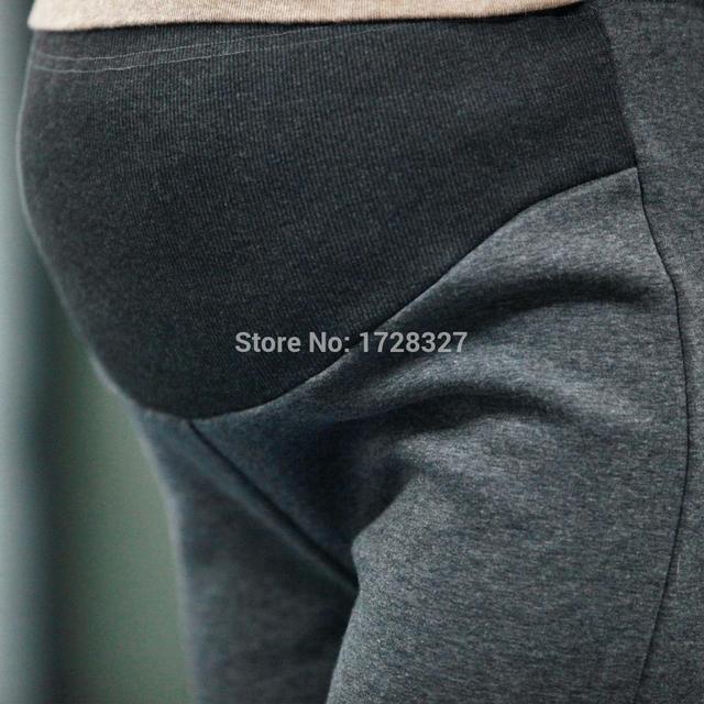 Frete grátis 2015 coreano mulheres Leggings inverno maternidade inverno algodão grosso calças quentes para as mulheres grávidas YF003