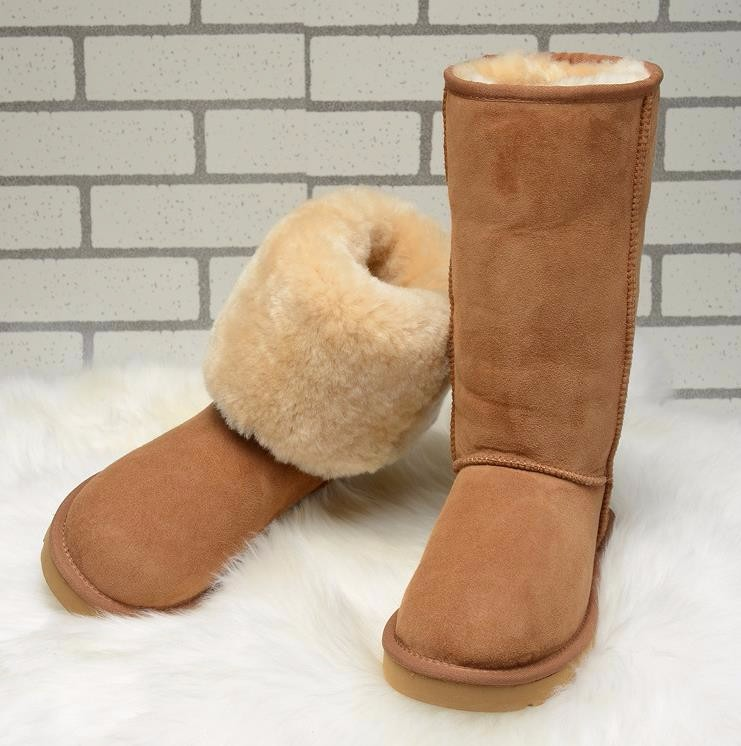 2016 Australia Women Boots Genuine Sheepskin Leather Snow Boots 100% Natural Fur Snow Boots Warm Wool Winter Boots winter snow boots women australia sheepskin fur constellation short snow boots women genuine leather boots wholesale size 35 39