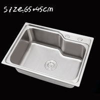 Undermount Small Corner Radius Kitchen Sink Single Bowl Polished Satin Stainless Steel ITAS9903