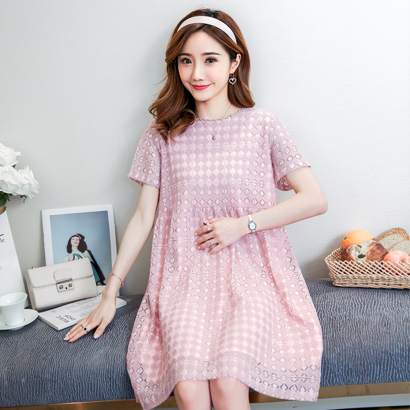 Maternity Clothes Plaid Casual 2018 Pregnancy Dress Fashion Cotton Maternity Clothing Of Pregnant Women Vestidos