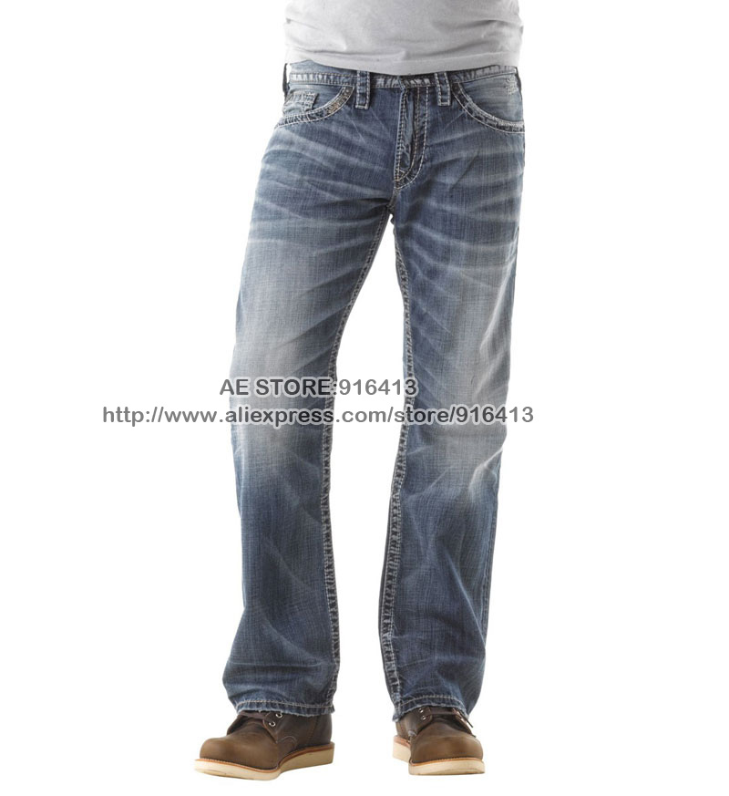 Popular Silver Jeans Men-Buy Cheap Silver Jeans Men lots from ...