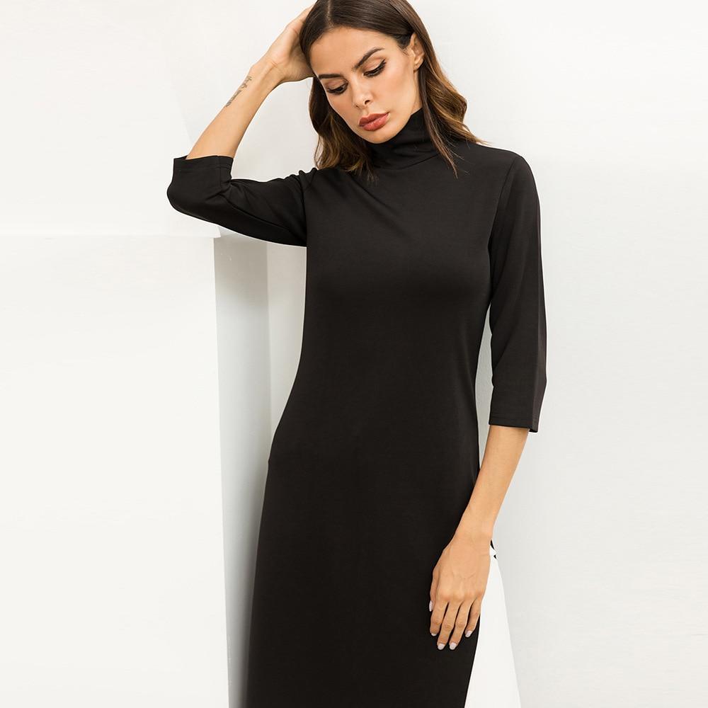 d032b3caa T Shirt Maxi Dress With Side Slits - raveitsafe