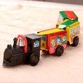 Lata de colección Clockwork Cadena Hierro tren de juguete clásico Nostálgico de la vendimia de la herida-up juguetes de hojalata