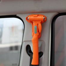 Car Accessories Safety Security Hammer Auto Escape Seatbelt Cutter Glass Window Breaker Survival Emergency Tools