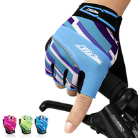 A03 Free Shipping The New Outdoor Sports Climbing Hiking Trekking Short Silicone Gloves Men And Women