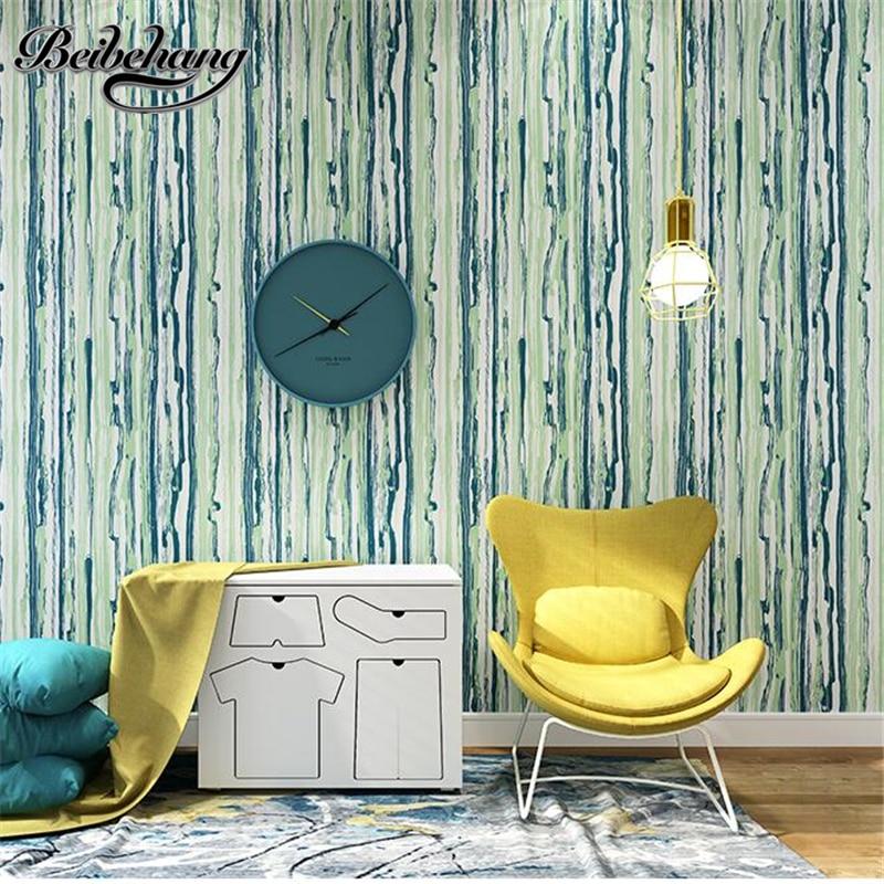 Beibehang haute qualité simple moderne nordique papier peint salon chambre canapé fond mur couleur non-tissé papier peint gris