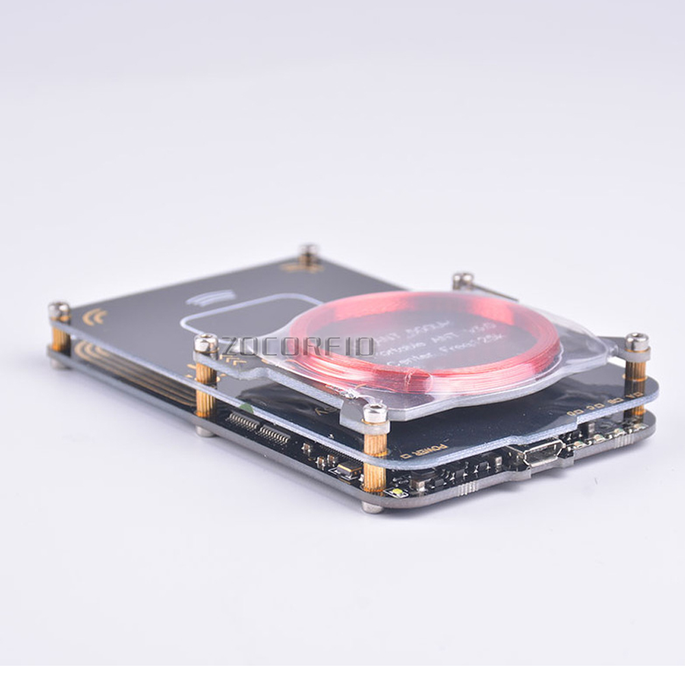Upgrade proxmark3 develop suit Kits 4.0 proxmark RDV4 NFC RFID reader writer for rfid card copier  USB port 512K