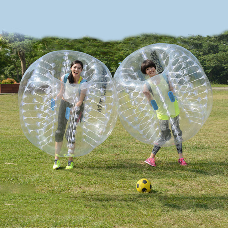 Antistress Air Bubble Soccer Zorb Ball stress relief toys 1.0m for children Air Bumper Ball Inflatable Football,Zorb Ball - 3