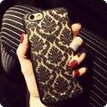 Teste padrão de flor de luxo do vintage caixa do telefone da moda para iphone 6 6 s plus 7 Casos Mais 5 5S SE 5C 4 4S 7 Cores! Tampa traseira