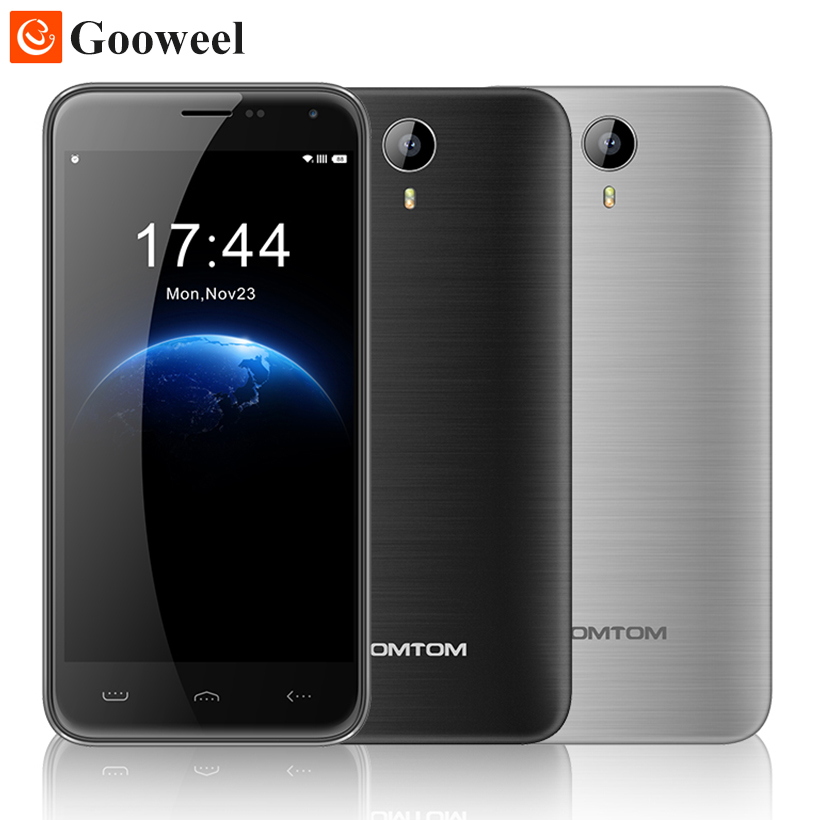 Original HOMTOM HT3 smartphone MTK6580 Quad Core 5 inch HD Android 5 1 Cell font b