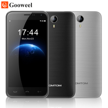 Original HOMTOM HT3 smartphone MTK6580 Quad A Core de 5 pulgadas HD Android 5.1 Teléfono celular 1 GB RAM 8 GB ROM 8MP GPS 3G WCDMA teléfono Móvil