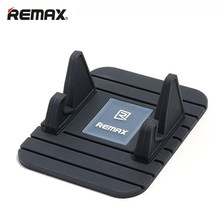 REMAX Soft Silicone Mobile Phone Holder Car Dashboard GPS Anti Slip Mat Desktop Stand Bracket for iPhone 5s 6 Samsung Tablet GPS(China)