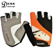 BOODUN Men Road Bicycle Glove Outdoor Cycling Sports Breathable Gloves Women MTB Bike Half Finger Sponge