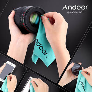 Andoer Cleaning-Cloth Camera-Lens VCR Nikon Gopro DSLR Canon for Sony/Dslr/Camcorder/..
