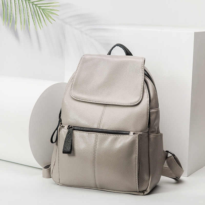 Женский рюкзак, Mochila, женский рюкзак из натуральной кожи, рюкзак Sac A Dos, дизайнерский маленький рюкзак, брендовая сумка на плечо, новинка C442