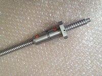 16 мм линейная проката dfu1605 ведущую швп ballnut установить 1 шт. sfu1605 мяч винт л 900 мм + 1 шт. двойной шаровой гайкой для поделок чпу