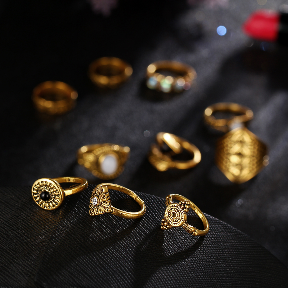 HTB1pT_DRXXXXXXpaFXXq6xXFXXXs Tribal Fashion 10-Pieces Vintage Midi Ring Set With Opal Stones - 2 Colors