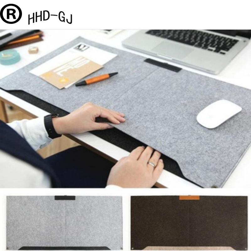 HHD-GJ Felt Large Mouse Pad 670*330mm Gaming Mouse Multi-function Mousepad Keyboard
