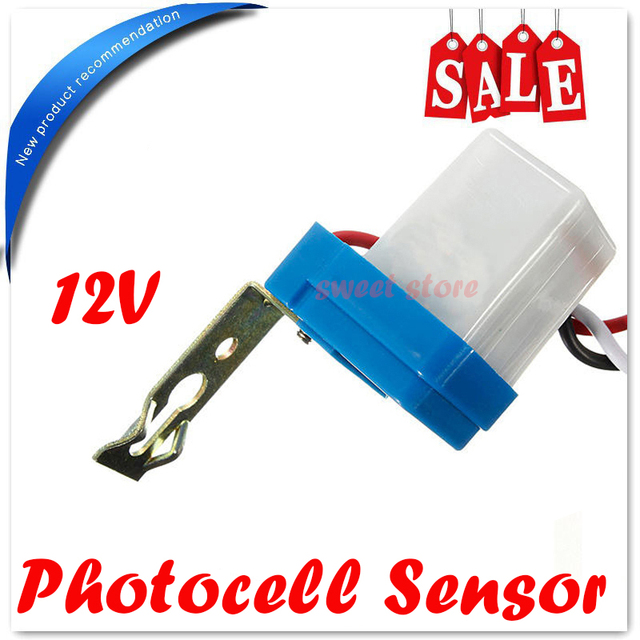 Free Shipping Ac  Dc 12v Dusk Till Dawn Automatic Photocell