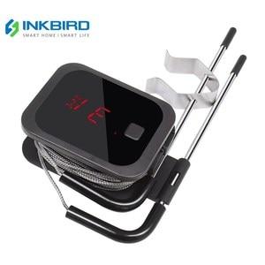Image 1 - Inkbird Digitale Koken Bluetooth Draadloze Grill Vlees Oven Bbq Voedsel Thermometer C/F Met 2 Rvs Probes En gratis App