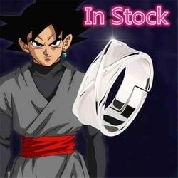 Super anéis goku tempo anéis de dedo cosplay adereços ajustável anel redondo
