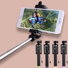 Универсальный Selfie Стик Для Android Проводной Мини Пало Selfie Монопод Для iPhone Samsung Galaxy Xiaomi Huawei Lenovo Meizu Телефон