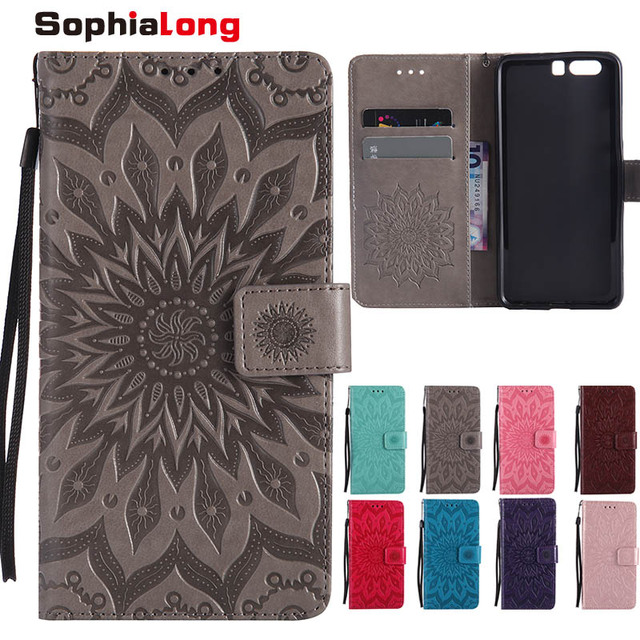 SophiaLong Case For Fundas Huawei P10 Plus case For coque Huawei P10 Plus + VKY-AL00 Wallet Cover for Huawei P10plus Phone Cases