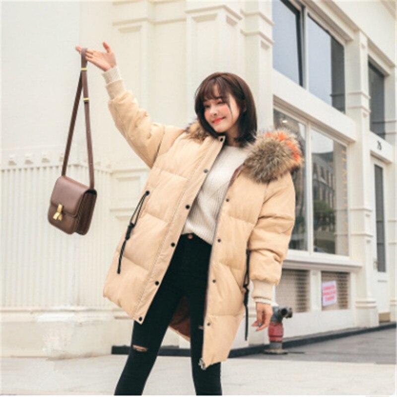 New 2018 Parkas Female Women Winter Coat Thick Cotton Winter Jacket Womens Outwear Parkas for Women luxury Winter Y 025