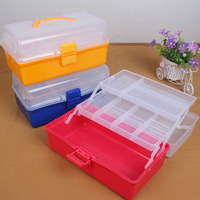 Multi Function Folding Tool Box Safety PP Material Tool Case Colorful Folded Tool Box Multi Purpose