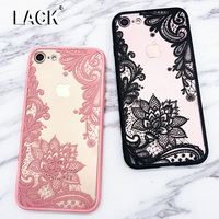 LACK Sexy Lace Datura Paisley Mandala Henna Flower Case For Iphone 7 Case For Iphone7 6