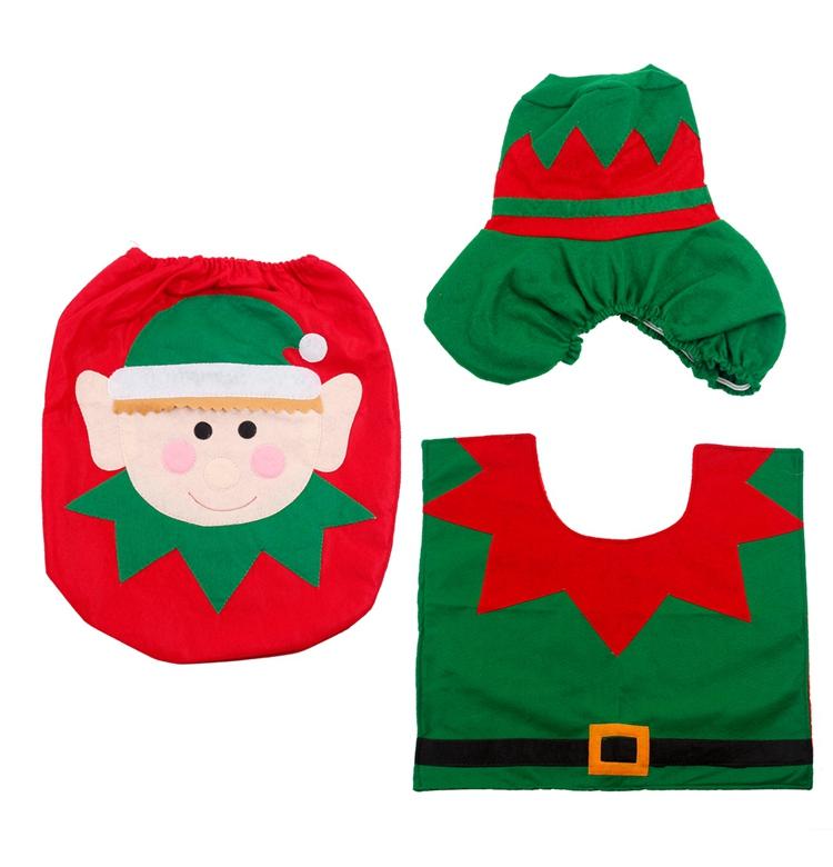 HTB1pTbZSFXXXXXAXVXXq6xXFXXXG - FENGRISE Santa Claus Rug Toilet Seat Cover Christmas Decoration Fancy