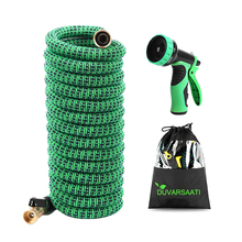 Expandable Garden Magic Water Hose EU Version High Pressure Flexible Car Wash Plastic Pipe To Watering With Spray Gun